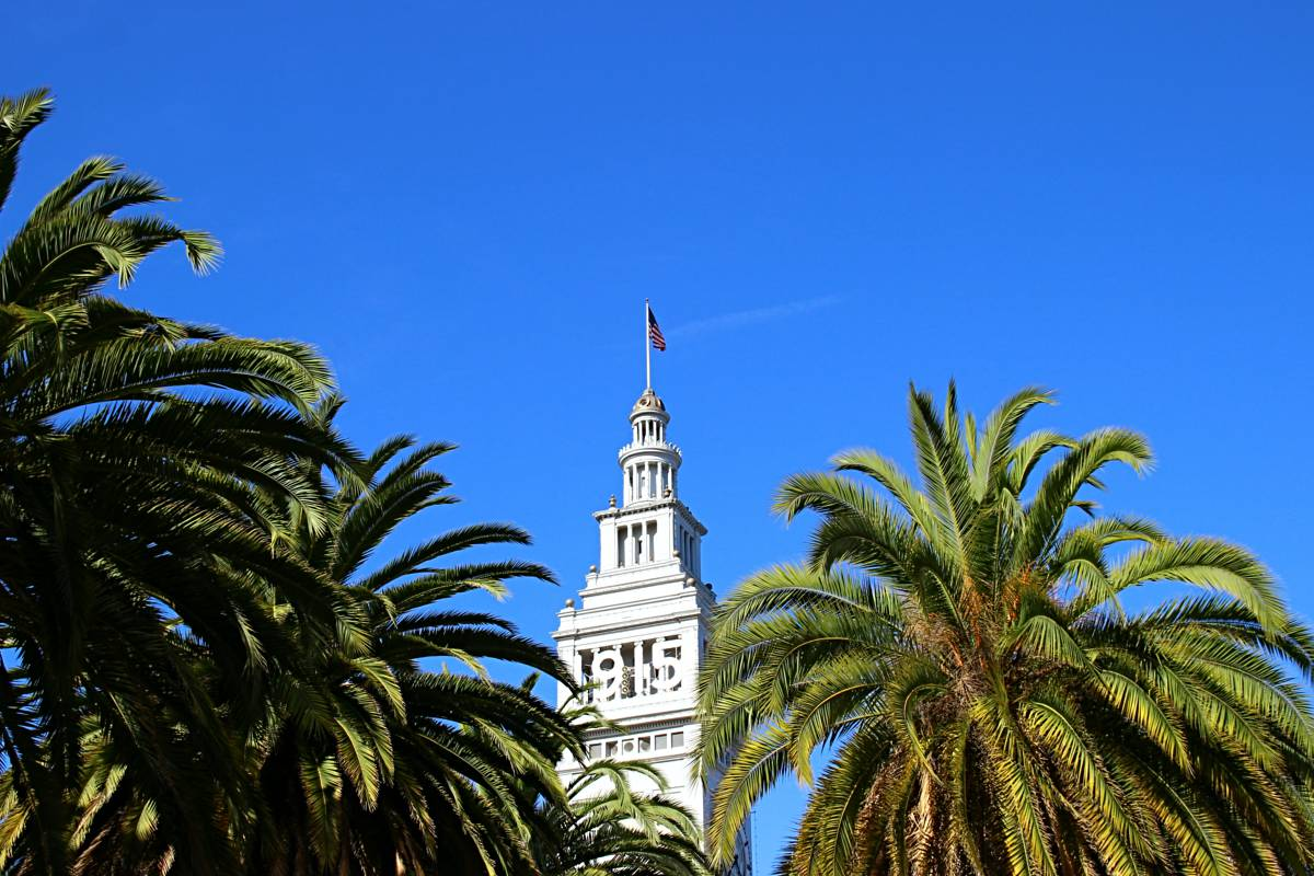 The Ferry Building at Market St